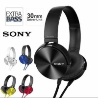 Headset earphone Sony extra bass