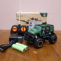 MAINAN RC CAR JEEP ARMY - MAINAN REMOTE CONTROL OFF ROAD ADMY