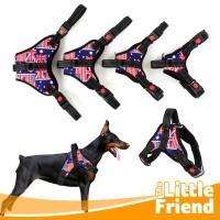 Body Harness Silang Badan Anjing Type B Bahan Tebal Kualitas Premium