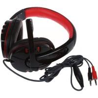 Headphone Mic microphone Headset earphone PC Laptop Komputer Gaming X9
