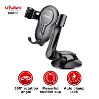 VIVAN Car Holder Universal CHS06 Rotasi 360° Pengunci Otomatis