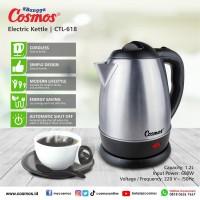 COSMOS CTL 618 kettle listrik teko 1,2 L 600 W
