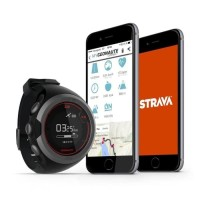 GPS Running Jam Tangan Olahraga Pria FastFix Tech - Hitam