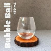 Bubble Ball | Gelas Minum Kaca | Gelas Kopi Teh | Mug Kaca