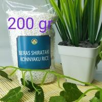 shirataki rice beras konnyaku beras diet