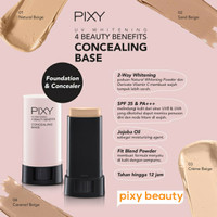 PIXY UV Whitening Concealing Base 9g