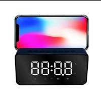 Speaker Bluetooth LED Smart Digital E03 - Speaker Alarm Jam Digital