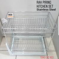 Taco Rak Piring/Kitchen Set Stainless Steel HW-023SS