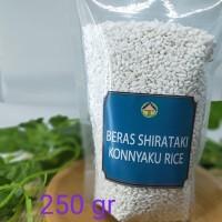 shirataki rice beras konnyaku beras diet konnyaku