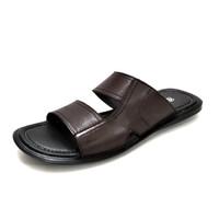 Sandal Pria Ukuran Besar Bahan Kulit Asli Sandal pria Big size
