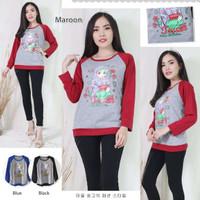 TKOPPA_ Sweater wanita | Kaos wanita | Sweater Raglan | Kaos panjang