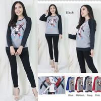 TKOPPA _ Sweater wanita | Kaos wanita | Sweater Raglan | Kaos Lgn Pjg