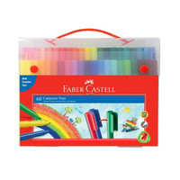 Faber Castell Connector Pen 60 Colors Spidol Warna Atk Murah