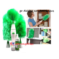 GoDust Electric Home Go Duster Powered By Battery Kemoceng Elektrik