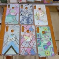 softcase casing case motif Glitter free popsocket Samsung a20s