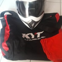 Helm KYT Enduro (Free Bluetooth)