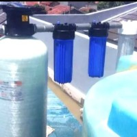 NANOTEC filter penyaringan air sumur bor tanah ,atau air PAM djaya.