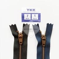 Resleting jeans ATG YKK 18cm 7inch metal zipper jeans seleting besi