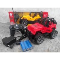 Mainan Mobil Remote Jeep Off Road Truck Radio Control