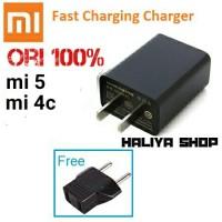 charger adafter kepala xiaomi original MDY-30-EB mi5/mi4c fastcha