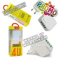 PROMO MURAH MERIAH LDNIO USB Travel Charger 4 Port 4.4A A4403 acc