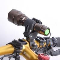 Bracket Holder Lampu Senter LED Sepeda Dengan Braket Penahan Dapat