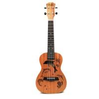 Ukulele Uke 4 Senar Nylon Sapele Rosewood Universal untuk Gitar
