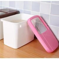 Kitchen Grain Rice Container Storage Box Moisture-proof Dispenser