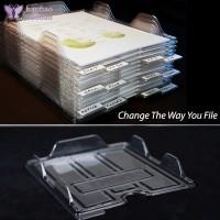 Rak Penyimpanan File Folder Organizer Untuk Kertas Majalah Kantor