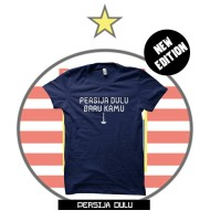 Kaos Tshirt Baju Combed 30s Distro Persija Dulu Baru Kamu Jersey Murah
