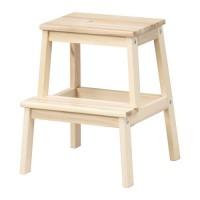 BEKVAM Bangku Tangga 2 Step Kayu Aspen Ikea Wooden Step Stool Limited