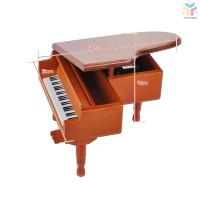 T & T Kotak Musik Piano Kayu Klasik Melody untuk Hadiah Anak
