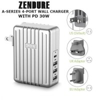 ZENDURE ZDAPD-4 - A-Series 4-Port Wall Charger with USB-C PD 30W