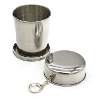 Gantungan Kunci Gelas Lipat Camping Folded Cup 240ML -