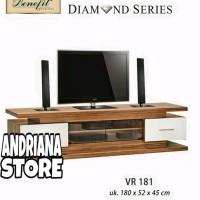 Meja / Bufet TV Minimalis Diamond VR 181 limited stock