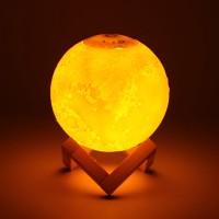 M1-880ML Air Humidifier 3D Moon Lamp light Diffuser USB Ultrasonic