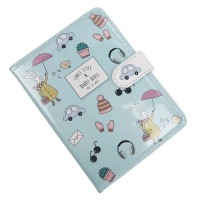 Cute Notebook Monthly Daily Planner Study Notepad Diary Journal
