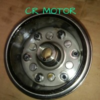 Magnet+one way tiger revo copotan motor