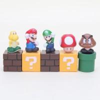 """Super Mario 10sets 2"""" bundle Blocks Mario Goomba Luigi Koopa Troopa"""