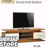Meja / Bufet TV Minimalis Diamond VR 180 suku cadang