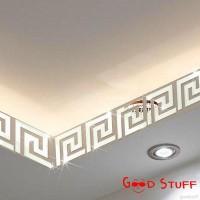 Stiker Dinding dengan Bahan PVC Mudah Dilepas dan Gambar Puzzle