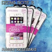 Tempered Glass Spy Redmi Note 5 suku cadang