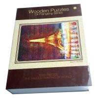 1000pcs Puzzle Gambar Menara Eiffel Ukuran 70x50cm Untuk Dewasa