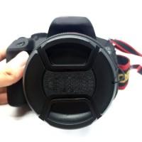 Kap Penutup Lensa Depan 52mm Untuk Kamera Canon