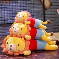 Sedikit singa mainan mewah, Strip besar tidur tidur bantal boneka,