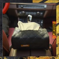 Tempat tisu Mobil Kulit Kotak Tisu motif kulit Box Tisu SP91