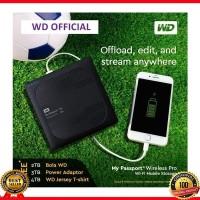 WD My Passport Wireless Pro 4TB HDD Hardisk Eksternal - WDBSMT004