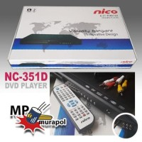 Promo NC-351D NICO DVD PLAYER NICO + USB ORIGINAL - MURAPOL Diskon