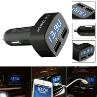 USB CAR CHARGER 4 in 1 Dual Port USB Adapter onderdil