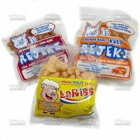 Paket Isi 3 Kerupuk Rambak Samcam Babi Krupuk Kulit Samcan Rejeki La